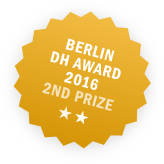 Berlin Digital Humanities Award 2016 2nd Prize